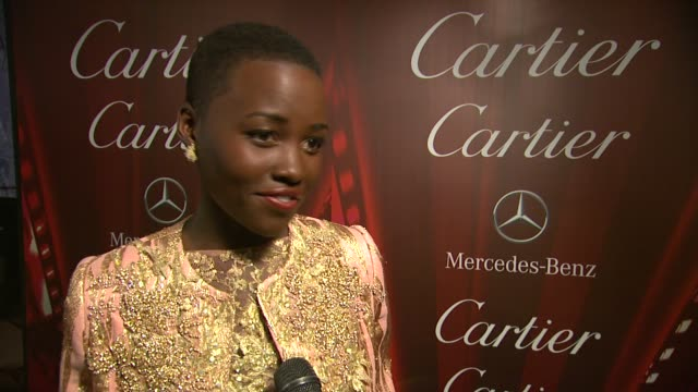 INTERVIEW Lupita Nyong'o on why her role in 12 Years A Slave resonated with her at the 25th Annual Palm Springs International Film Festival Awards...