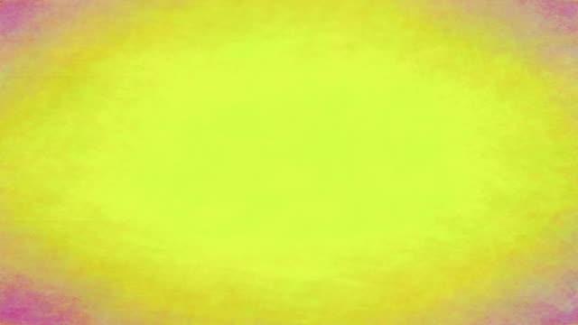 Üppige abstrakt Gelb und Rosa strukturierten Hintergrund loop