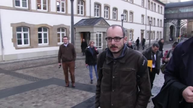 Luxleaks whistle blower Antoine Deltour appears in court for an appeal hearing
