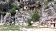 Lycian Tombs, Myra, Turkey