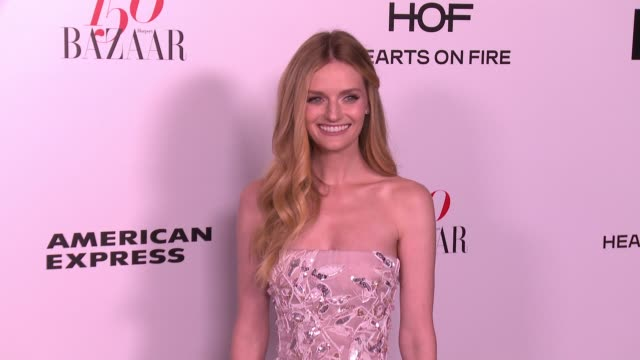 Lydia Hearst at the Harper's BAZAAR Celebrates 150 Most Fashionable Women at Sunset Tower on January 27 2017 in West Hollywood California