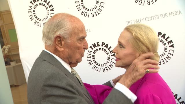 AC Lyles and Anne Jeffreys at the The Paley Center For Media Presents A Special Premiere Viewing Reception 'Debbie Reynolds The Exhibit' at Beverly...