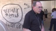 Lyon's Archbishop Cardinal Philippe Barbarin visited the Iraqi city of Mosul Tuesday in the aftermath of the ouster of IS from its stronghold and one...