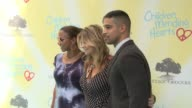 Lysa Heslov Holly Robinson Peete and Wilmer Valderrama at the Children Mending Hearts 9th Annual Empathy Rocks on June 11 2017 in Los Angeles...
