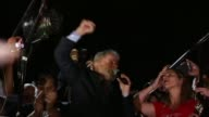 I'm going to prove that we're going to fix this country says former Brazilian president Lula in a supporters rally in Curitiba Wednesday after the...