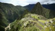 Macchu Picchu HD-Zeitraffer. Peru