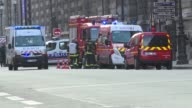 A machete wielding man who yelled Allahu Akbar was shot and injured as he attacked security forces at the Louvre museum in Paris on Friday police said