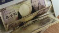 ECU, HA, Machine counting five thousand Yen bills
