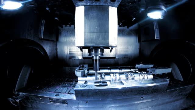 CU CNC Machine Polishing The Edges
