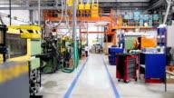 Maschinen und Geräte im Fließband