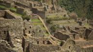 Machu Picchu Gebäude timelapse