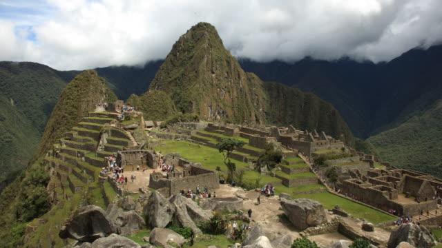 Machu Picchu Day Timelapse
