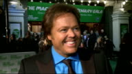 Macmillan Centenary Gala GVs Jimmy Osmond Jimmy Osmond interview SOT On Macmillan being special and his friend producing the evening's event On...