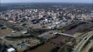 Macon  - Aerial View - Georgia,  Bibb County,  United States