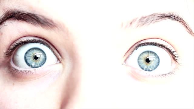 HD: Makro Nahaufnahme des menschlichen Auges