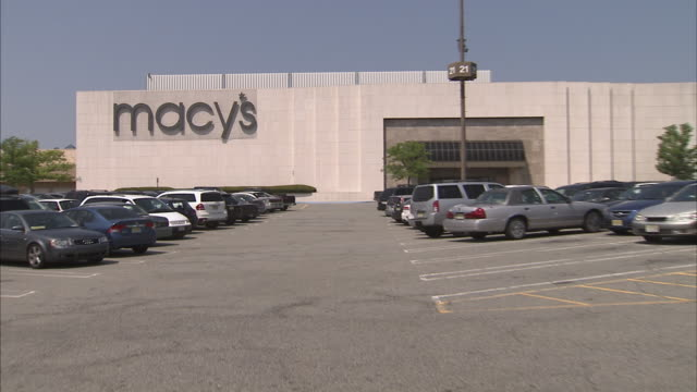 Macy's department store exterior and signage