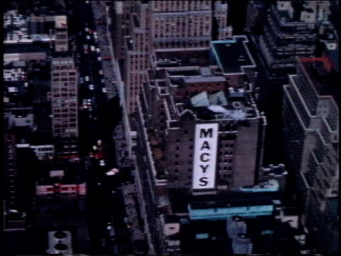 1962 HA Macy's on 34th St. in Manhattan / New York, New York, United States