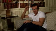'Mad Dogs' Drama Max Beesley interview ENGLAND London INT Max Beesley interview SOT discusses his role in new drama 'Mad Dogs' friendship with Robbie...
