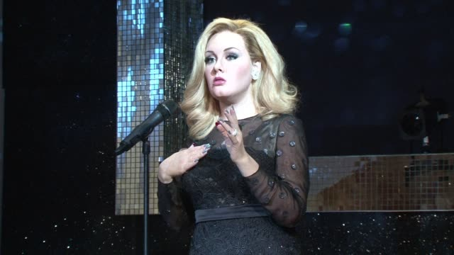 Madame Tussauds previewed their newest addition on Wednesday Grammy award winning British singer Adele CLEAN British songstress Adele immortalised on...
