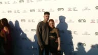 Madelaine Petsch and Travis Mills at the 27th Annual Environmental Media Association Awards at Barker Hangar on September 23 2017 in Santa Monica...