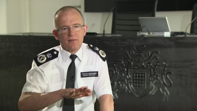 Assistant Commissioner Mark Rowley interview Assistant Commissioner Mark Rowley interview continued SOT