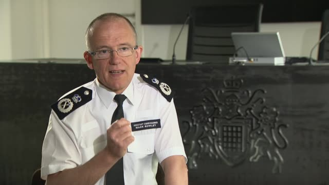 Assistant Commissioner Mark Rowley interview ENGLAND London INT Assistant Commissioner Mark Rowley interview SOT