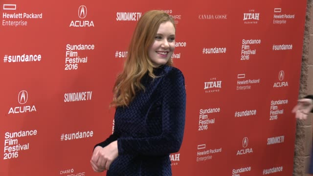 Madisen Beaty at 'Other People' Screening 2016 Sundance Film Festival at Eccles Center Theatre on January 21 2016 in Park City Utah