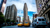 Madison Square Flatiron New York timelapse