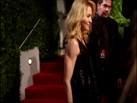 Madonna arrives for The Vanity Fair Party