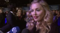 Madonna on the story on research on casting Andrea Riseborough on whether the film was fun on misconceptions on favourite Michael Jackson track at...