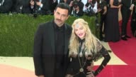 Madonna Riccardo Tisci at Manus x Machina Fashion in an Age of Technology Costume Institute Benefit Gala Arrivals at Metropolitan Museum of Art at...