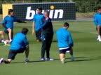Angel Herrera Argentinean Angel di Maria and Portuguese Fabio Coentrao were unable to take part in Real Madrid's last training session before the...