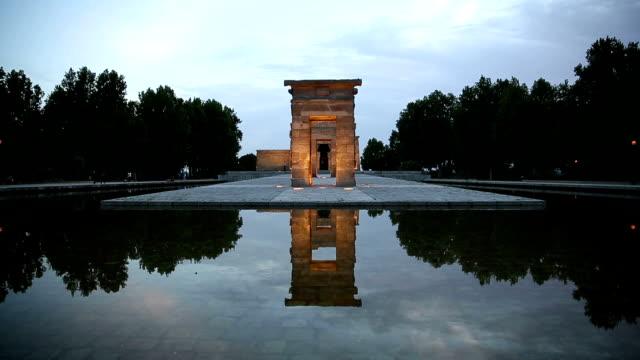 VDO: Madrid debod templo-Tempel