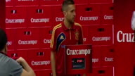 Madrid Sept 5 Spanish national team players Xabi Alonso and Jordi Alba were awarded their weight in beer as a thankyou gesture from La Roja sponsor...