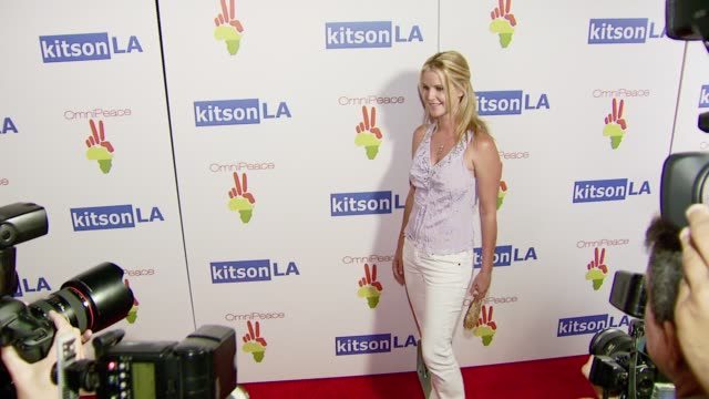 Maeve Quinlan at the OmniPeace Launch Party Hosted by Courteney Cox at Kitson Men in Los Angeles California on June 21 2007