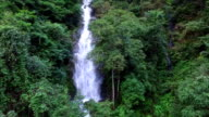 Magai waterfall l in hongxi Nature reserve,lingui,guilin,china