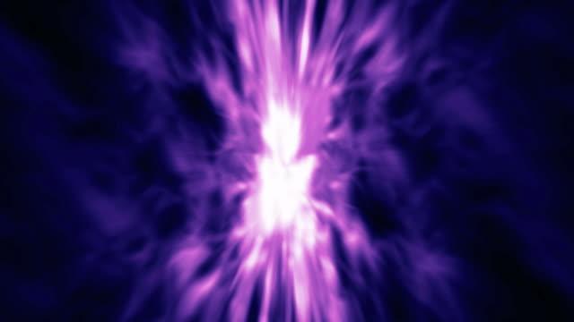 Magenta helles Licht Streifen Hintergrund Loop