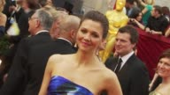 Maggie Gyllenhaal at the 82nd Annual Academy Awards Arrivals at Hollywood CA