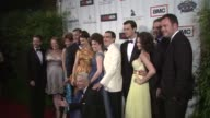 Maggie Siff Patrick Fischler Colin Hanks Alison Brie and Michael Gladis at the Lionsgate Presents The Live Revue A Night On The Town With 'Mad Men'...