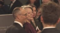 Maggie Smith at The EE British Academy Film Awards at The Royal Opera House on February 14 2016 in London England