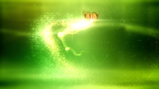 Magic Schmetterling (grün)-Loop