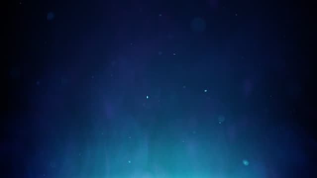 Magical Background - Blue Misty Fog