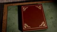 Libro magico con opaco transizione.
