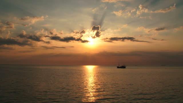 magical golden sunset