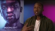 INTERVIEW Mahershala Ali on on audience reactions at LFF 'Moonlight' Interviews on October 7 2016 in London England