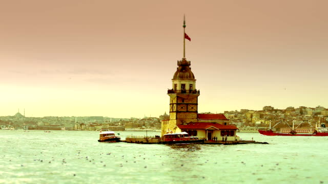 HD: Maiden Tower, Istanbul, TURKEY