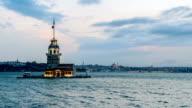 4K: Kız Kulesi, time-lapse
