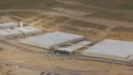 CU AERIAL ZO main building at NSA Utah data center and buildings / Utah, United States