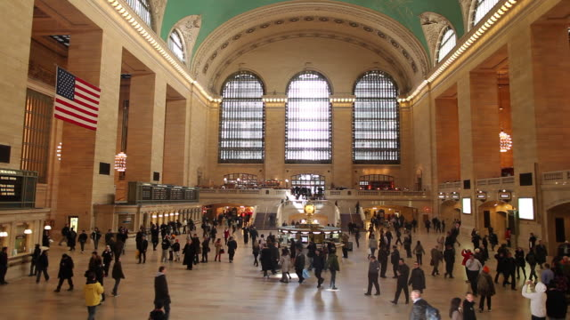 WS Main Concourse of Grand Central Terminal / New York City, New York, USA