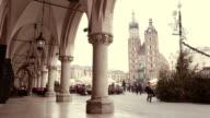 Piazza del mercato di Cracovia
